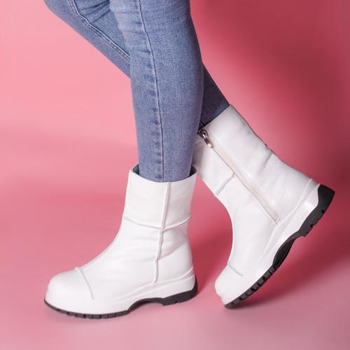 Ботинки кожаные 211383