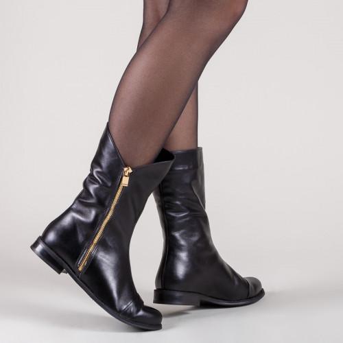 Ботинки кожаные 21191