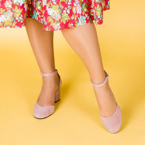 Туфли замшевые 281553