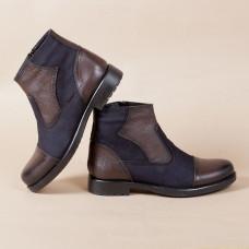 Ботинки кожаные m4054