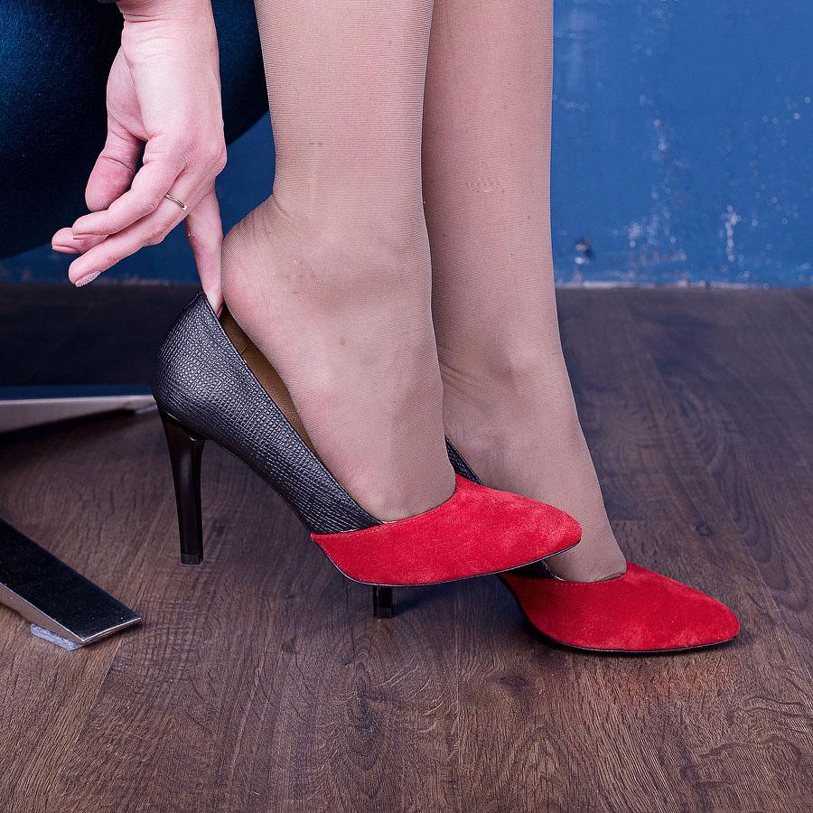Женская обувь из замши